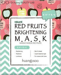Huangjisoo Fruit Brightening Sheet 5τμχ
