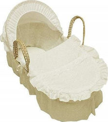 f3a520f7f4e Cuddles Collection Χειροποίητη Ψάθινη Καλαθούνα Cream