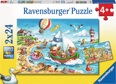 Seaside Holiday 2x24pcs (07829) Ravensburger