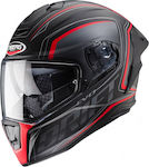 Caberg Drift Evo Integra H9 Matt Black/Anthracite/Red Fluo