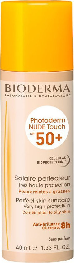 Bioderma Nude Touch Combination Oily Skin Natural