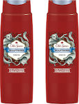 Old Spice Wolfthorn Shower Gel 2x400ml