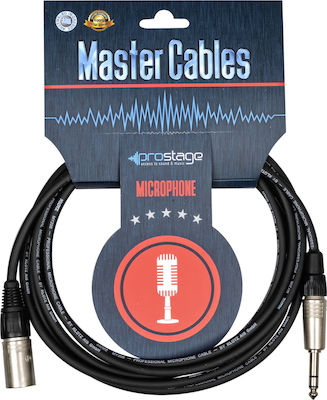 Prostage Cable XLR male - 6.3mm male 7m (MTS-07)