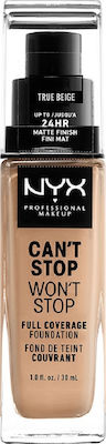 Nyx Professional Makeup Can't Stop Won't Stop CSWSF08 True Beige 30ml