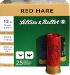 Sellier & Bellot Red Hare 32gr 25τμχ