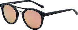 0eaecff0fc Horsefeathers Nomad Sunglasses Matt Black mirror Rose AA1086E