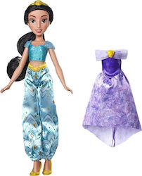 Hasbro Enchanted Evening Styles, Jasmine Doll with 2 Outfits