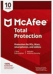 McAfee Total Protection 2019 (10 Licences , 1 Year)