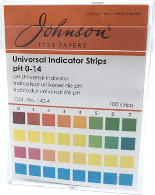 Johnson Test Papers Universal pH 100τμχ