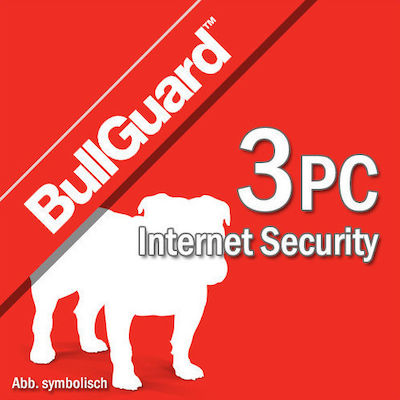 BullGuard Internet Security - Multi Device (3 Licences , 1 Year) Key
