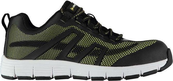 9c5e5e262d7 Dunlop Maine Mens Safety Shoes Black Green 181066
