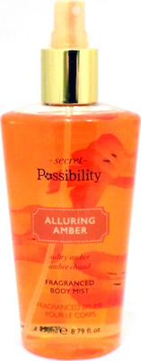 Possibility Of London Alluring Amber Body Mist 250ml