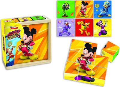 Mickey and The Roadster Racers 9pcs (BI1576279) Jakks Pacific