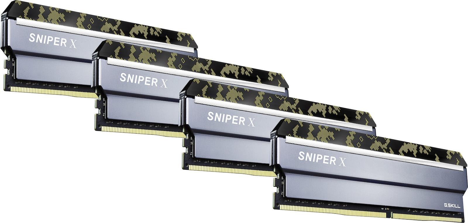 G Skill Sniper X 64GB DDR4-3600MHz (F4-3600C19Q-64GSXKB) - Skroutz gr