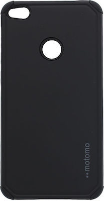 Motomo Tough Armor Back Cover Μαύρο (Huawei P8/P9 Lite 2017)