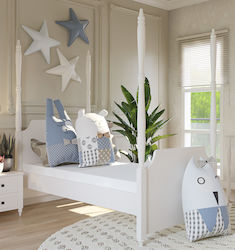 819044ad6ca Παιδικά Κρεβάτια Woodyline Μονά - Skroutz.gr