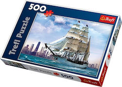 Sailing Ship on the Background of Chicago 500pcs