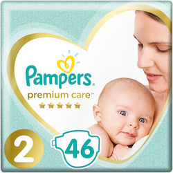 Pampers Premium Care Value Pack Νo 2 (4-8kg) 46τμχ