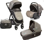 Cangaroo Stefanie 3 in 1 With Extra Port Bebe Grey