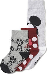 Adidas Mickey Mouse Ankle Socks 3 Pairs BP7821