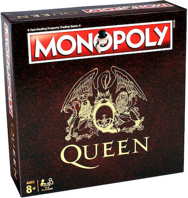 Winning Moves Queen Monopoly