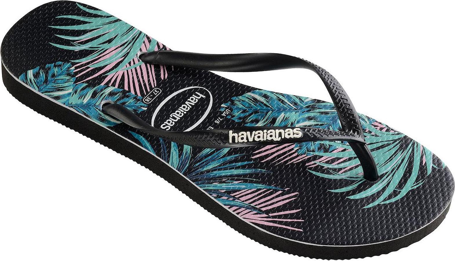 Zehensandalen Flip Flops Havaianas Slim Tropical Floral 4139406-4137