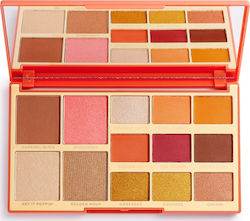 Revolution Beauty x Rachel Leary Goddess On The Go Palette