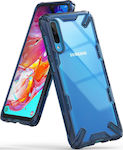 Ringke Fusion X Back Cover Σιλικόνης Space Blue (Galaxy A70)