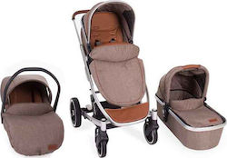 Kikka Boo Divaina 3 in 1 With Extra Port Bebe Beige Melange