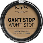 Nyx Professional Makeup Can't Stop Won't Stop Powder Foundation Caramel 10.7gr