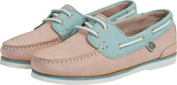 Barbour γυναικεία boat shoes - LFO0175 - Nude