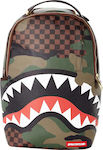 Sprayground Checkered Shark Camo