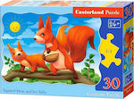 Squirrel Mom & Her Baby 30pcs (B-03693) Castorland