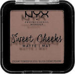 Nyx Professional Makeup Sweet Cheeks Blush Matte So Taupe