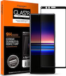 Spigen Full Face Tempered Glass Black (Xperia 1)