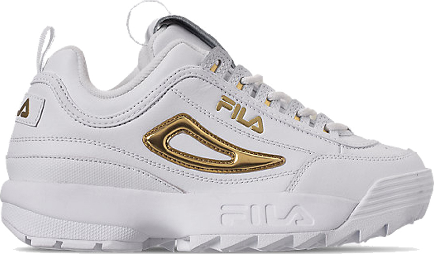 fila disruptor 11 metallic