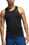 Adidas Rise Up N Run Singlet Black