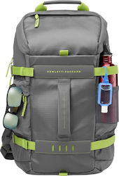 "HP Odyssey Backpack 15.6"" Grey/Green"