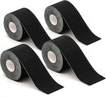 Hoppline Kinesiology Tape 5cm x 5m Black