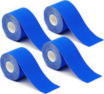 Hoppline Kinesiology Tape 5cm x 5m Blue