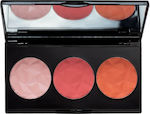 Mua Makeup Academy Luxe Bashful Trio Blush 1