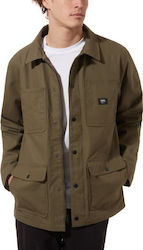 VANS Ripstop Drill Chore Coat Lined - Grape Leaf - VN0A456ZTTD