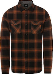 Vans Monterey III Flannel Shirt - Black/Argan oil
