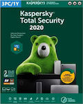 Kaspersky Total Security 2020 (3 Licences , 1 Year) Key