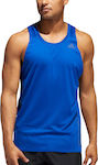 Adidas Rise Up N Run Singlet Collegiate Royal