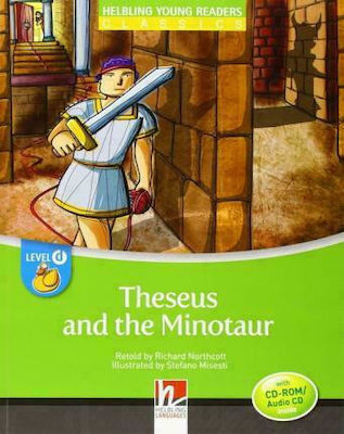 YOUNG READERS THESEUS AND THE MINOTAUR - READER + AUDIO CD / CD-ROM (YOUNG READERS D)