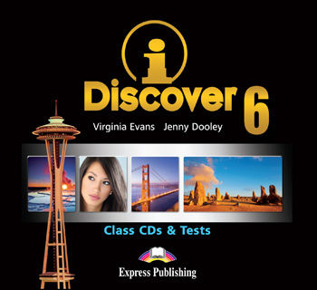 iDiscover 6 Class Audio CDs & Tests (set of 2)