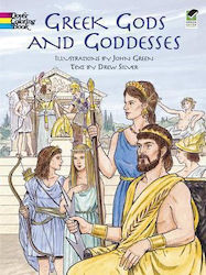 GREEK GODS AND GODDESSES (COLOURING BOOK) PB