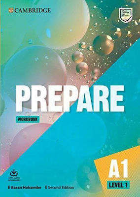 Prepare 1 Workbook (+audio Downloadable) 2nd Edition