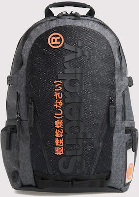 Superdry Double Marl Tarp Rucksack Dark Grey Marl